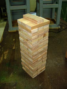 tower of jenga